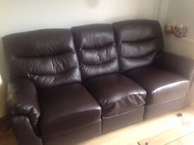 3 Seater & 2 Seater Manual Recliner Sofas