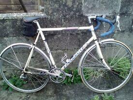 Retro/vintage Peugot racing bicycle 1970s