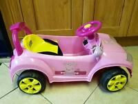Peppa pig battery powered car