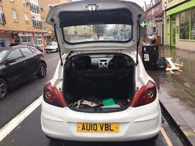 Vauxhall corsa 2010 white 1.00
