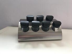 Brabantia brushed stainless steel spice rack