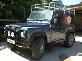 Landrover Defender 90 TD5 with galvanised chassis and many extras