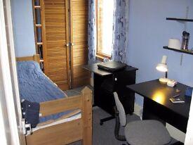 Single Room. Central east. International student/Researcher/Language student. Short/Long let