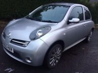 NISSAN MICRA SPORT+ 1.2 / FULL MOT / HPI CLEAR / LOTS OF HISTORY / GOOD CONDITION / RARE MODEL