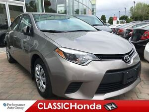 2014 Toyota Corolla LE BACKUP CAMERA BLUETOOTH