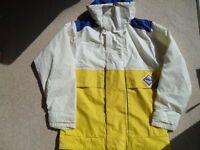 Splash down Sailing Jacket adult size small