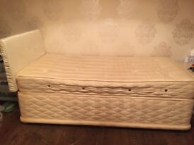 Sealy single divan bed base