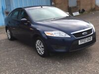 2007 Ford MONDEO 1.6 , mot - March 2018 , service history ,2 owners ,vectra,astra,focus,accord,golf