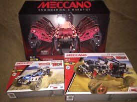 Meccano sets brand new