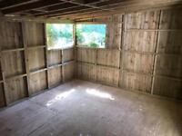 Large shed with windows for sale