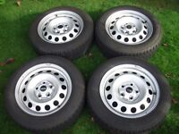Mini Countryman R60 Winter Tyres on Wheels Set of 4