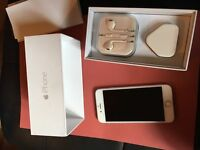 Apple iPhone 6 16gb silver vodafone network boxed very good condition boxed