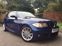 GOOD BAD OR NO CREDIT! FINANCE SPECIALISTS! CALL 07766 732623 BMW 1 SERIES 2.0 116D M SPORT 2009 3d