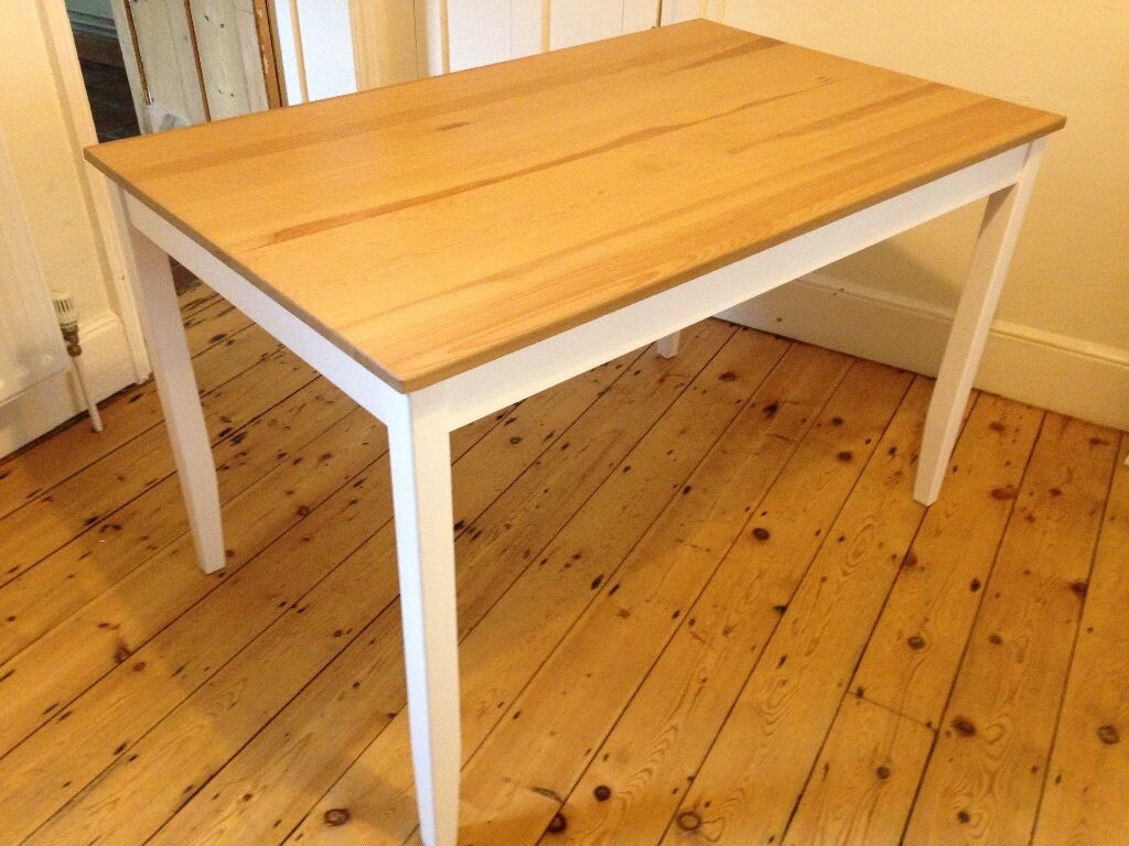 Ikea lerhamn table in cambridge cambridgeshire gumtree for Table in table