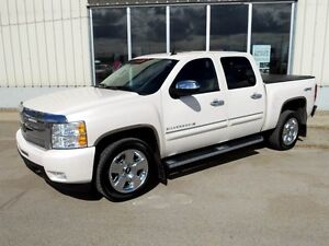 2010 Chevrolet Silverado 1500 LTZ White-Diamond Edition 4x4