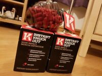 2 x Instant Knockout - High Quality Dietary Supplement - Fat Burner Weight Loss - Bundle Deal