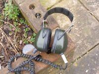 HUNTER METAL DETECTOR HEADPHONES WITH VOLUME CONTROL