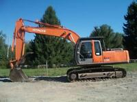 Currently Dismantling a Hitachi Zaxis200LC Excavator