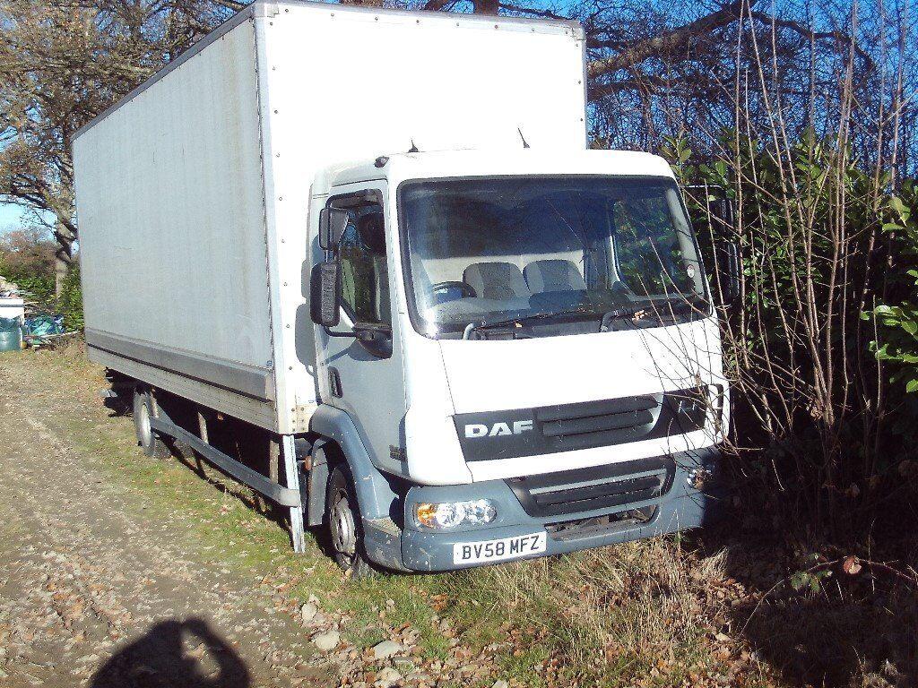 DAF 446 160 BOX LORRY 2008