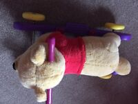 Winnie the Pooh rocking horse/push along**must look at details**