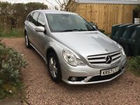 Mercedes SUV 280 CDI (ML style) R Class, fab luxury motor in brilliant condition, years Mot.