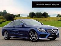 Mercedes-Benz C Class C 220 D AMG LINE PREMIUM PLUS (blue) 2016-09-26