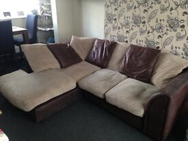 2 seater and L shape sofa for sale collection now or by Friday latest collection se19 OFFERS WELCOME
