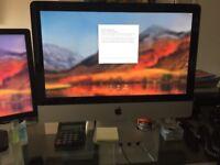 Apple Mac 21.5in screen, keyboard and wireless mouse
