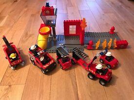 Lego duplo fire set