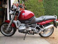 BMW R1100R, 1999.excellent condition. 68K miles £1850