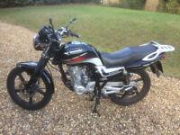 Lexmoto Arrow 125cc Motorbike / Motorcycle (2015)