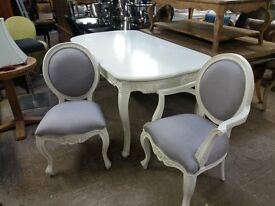 New French Style Dining Table and 8 Chairs Delivery available
