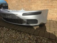 vw golf mk5 front bumper and grill silver