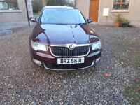 April 2009 Skoda Superb ELEGANCE TDI 140 Leather Heated seats etc