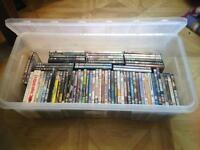 Job lot of 70 DVD's in box - £30 collect from Fareham Hampshire