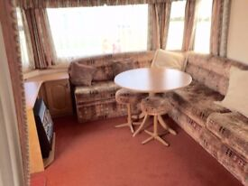 CHEAP STATIC CARAVAN STEEPLE BAY HOLIDAY PARK ESSEX SITE FEES £999