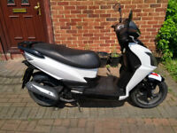 2012 SYM Jet 125 automatic scooter, new 1 year MOT, good condition, runs well, ride away, bargain ,,