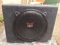 "Old School Rockford Fosgate PUNCH 12"" Sub with Punch 100 Amp"