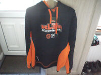 KMR KAWASAKI TEAM FLEECE, ROAD RACING/ NEW WITH TAGS/ XXXL SIZE