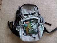New Coleman Backpack 22ltr, still with tags