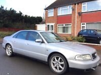 Audi A8 2.8 Sport Quattro 4dr £799 over heating issue 2001 (51 reg), Saloon