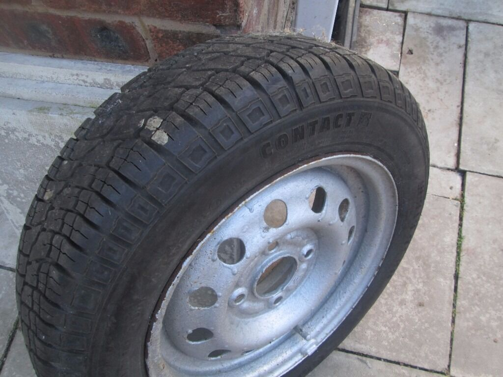 Ford Ka Tyre In Good Condition   R Continenial Contact Huyton