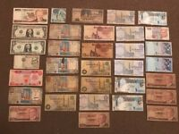 33 Banknotes World collection