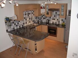 Town centre, 1 Bedroom Flat - Partially Furnished, Ground floor with outdoor space.