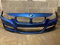 BMW 3 series 2013 2014 2015 2016 2017 2018 2019 front bumper m sport