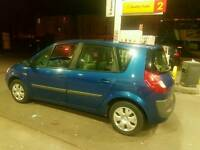 Automatic Renault Scenic in stunning blue 56 reg ,ideal for family,long mot px options available