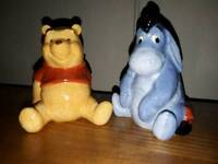 Winnie the pooh and Eyeore condiment