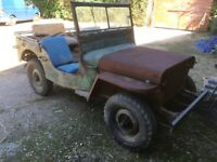 Ford gpw/Willys Jeep restoration project