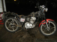 wanted dead or alive 50cc motorbikes etc upwards