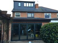 Bifold doors Manufactured in Nottingham. We also offer windows and other glazing systems